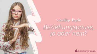Beziehungspause - Cover